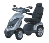 An image of the Monarch Royale 4 Wheel, a large sized mobility scooter.