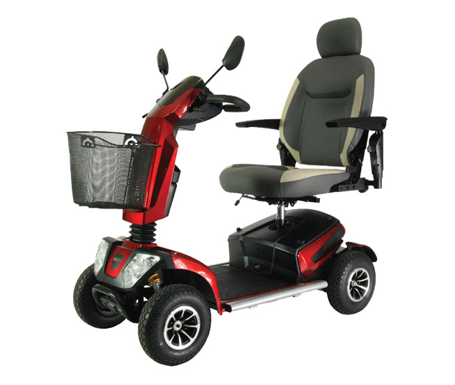 Red Monarch Volta Mobility Scooter