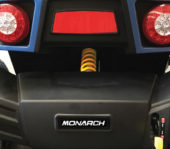 Monarch Vaulta Mobility Scooter Rear View
