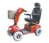 Red Monarch Wrangler Mobility Scooter