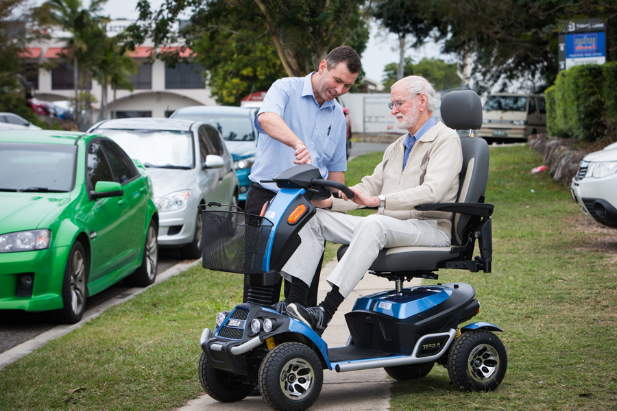 Image of Home Trial of Blue Mobility Scooter