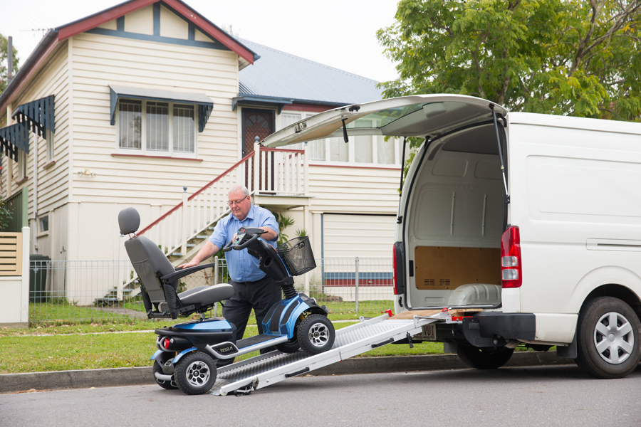 Image of Blue Mobility Scooter Home Delivery