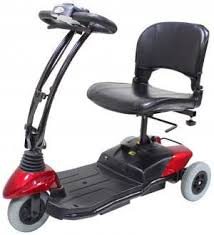 CTM HS-115 3-Wheel Pull Apart Mobility Scooter