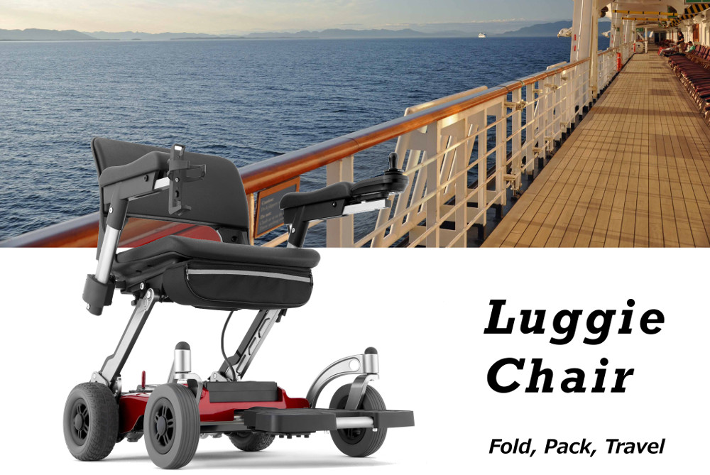 Luggie Folding Portable Powerchair For Sale