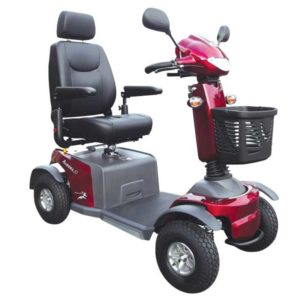 Merits Aurora S2, 4 Wheel Hill Climber Mobility Scooter