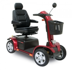 Merits Eclipse S2 Mobility Scooter Red