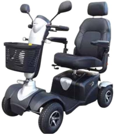 Merits ECO 745 Plus Mobility Scooter