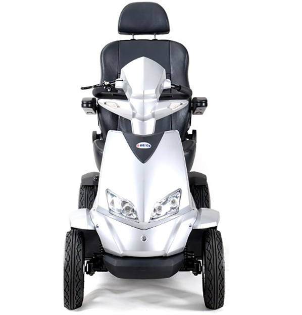 Merits Interceptor S940A S2 Scooter Red