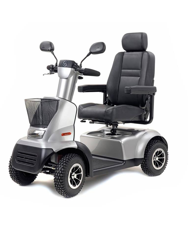 Afikim Breeze C / Afiscooter C - Silver 4 Wheel Mobility Scooter