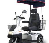 Afikim Breeze C / Afiscooter C - Silver 3 Wheel Mobility Scooter